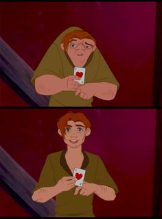 "What if Quasimodo got his wish ""to be just like everyone else.""? Wow."