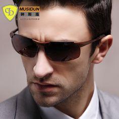 ea5e13d083a New Fashion Men polarized Sunglasses Designer Driving Sunglasses vintage Sun  Glasses UV400 oculos de masculino 8179 -in Sunglasses from Men s Clothing  ...