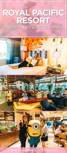 Hotel Review: Loews Royal Pacific Resort at Universal Resort Orlando, Florida USA