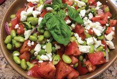 Edamame, Tomato and Feta Salad