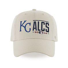 Kansas City Royals ALCS 47 Brand 2014 Postseason Playoffs Natural Adjust Hat Cap