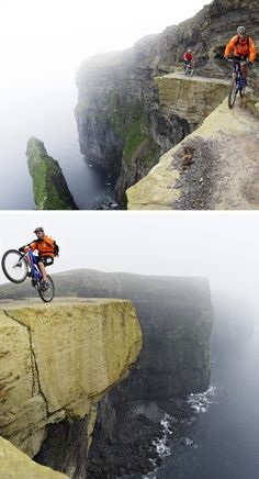 Adventure Travel: Mountain biking the Cliffs of Moher