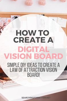 How To Create a Digital Vision Board. Find inspiration and ideas on how to create the ultimate vision board on your computer! These examples show how Digital Vision Board, Vision Board Images, Pinterest Vision Board, Free Printable Quotes, Meditation, Entrepreneur, Creating A Vision Board, Visualisation, Startup