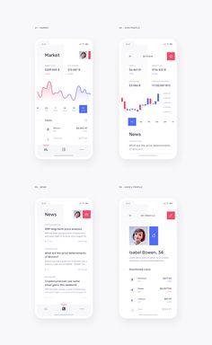 png by Daria Khimych Mobile Ui Design, App Ui Design, Chart Design, User Interface Design, Web Design, App Design Inspiration, User Experience Design, Ui Web, Screen Design
