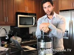 @Drew Canole for fitlife.tv This guy has the best juicing recipes!