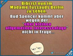 Lieber Bud Spencer und Terence Hill! #MadameTussauds #Berlin #Bibi #fail