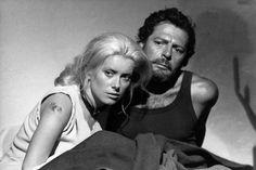 Catherine Deneuve and Marcello MASTROIANNI in Liza...