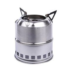 Usmile® Portable Lightweight Stainless steel Wood Burning Stove small wood stoves wood pellet stoves outdoor wood stove wood-gas stove Solidified Alcohol Stove for Outdoor Cooking Picnic BBQ Usmile http://www.amazon.com/dp/B00W8XSLVM/ref=cm_sw_r_pi_dp_NGvQwb04E52JZ