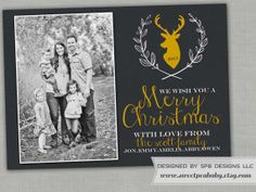 Christmas Photo Card  Holiday Greeting Card  Young by sweetpeababy, $16.00