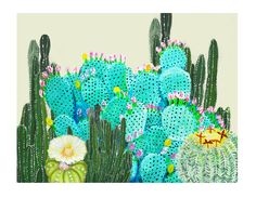 CACTUS VILLAGE COLLECTION // PRINT // BY LT