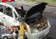 JORNAL O RESUMO: Nesta sexta-feira carro pega fogo e outro invade b...