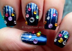 Ornament Icicle Nails