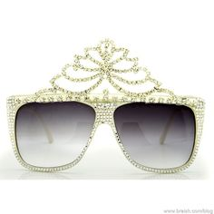 Crazy Sunglasses Couture By A-Morir  Fit for a Sweet Potato Queen!!