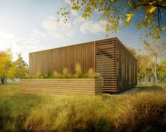 Czech Republic Solar Decathlon 2013 Rendering WEST ELEVATION | Flickr - Photo Sharing!