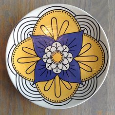 Mandala Plate   Paint Your Own Pottery   Paint Your Pot   Cary, North Carolina