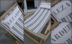 couture - restauration chaise longue