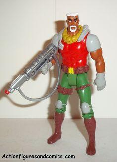 X-MEN X-Force toy biz G.W. BRIDGE 1992 GW complete marvel universe action figures 1993
