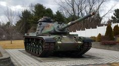 M60A3 at the American Legion post in Clifton Park, NY