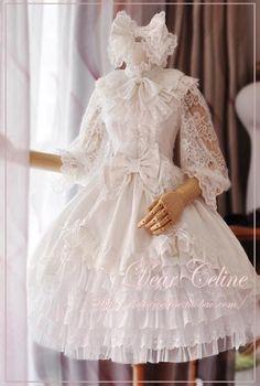 Dear Celine | CLOBBAONLINE.  Bride Jacquard JSK.  $113.95.