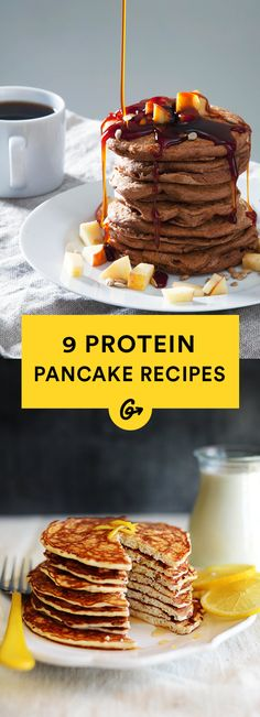 9 Protein Pancake Recipes That Prove You're Doing Breakfast All Wrong | healthy recipe ideas @xhealthyrecipex |