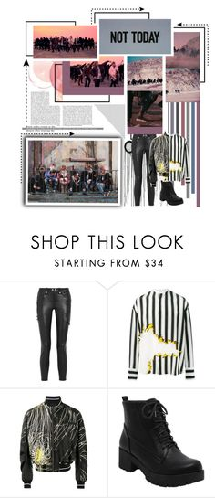 """NOT TODAY"" by jina-7 on Polyvore featuring Whiteley, Frame and Haider Ackermann"
