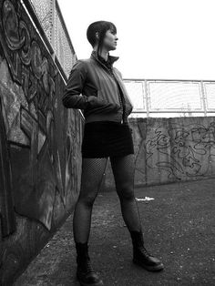 Most popular tags for this image include: photography and skinhead Chica Skinhead, Skinhead Girl, Skinhead Fashion, Skinhead Boots, Skinhead Reggae, Dr. Martens, Chelsea Cut, Chelsea Girls, Feminine Fashion