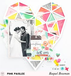 Paige Kits: Heart Layout