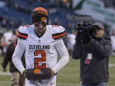 Johnny Manziel's tumultuous run as a quarterback for the Cleveland Browns appears to be over. A...