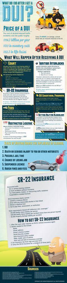 What Do I Do After I Get A DUI Infographic