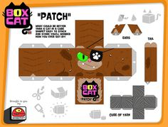 box cat-patch