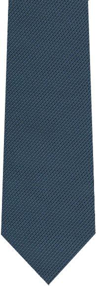Navy Blue Piccola Grenadine Silk Tie #8  $80