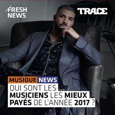 💸💸 Retrouvez le classement sur le site trace.tv #TRACEurban #UrbanNews #TRACE #Money