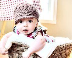 William's Baby Hat Crochet Pattern - Free Crochet Pattern