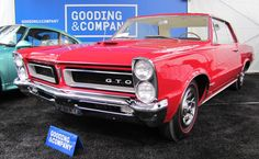 What I'd like to take home from Gooding auction1965 Pontiac GTO hardtop