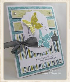 Stampin' Up set/// LOOKS like TC paper