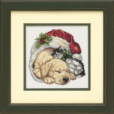 Dimensions - Counted Gold Cross Stitch Kit - Morning Pets