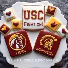 USC Cookies @TheCookieMonger Orders: email thecookiemonger@outlook.com