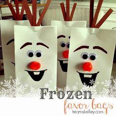 Bolsas de caramelos Frozen para cumpleaños                                                                                                                                                      Más