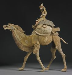 animal ||| sotheby's n09393lot8f5t2en Sculpture Clay, Sculptures, Pottery Painting, Painted Pottery, Terracota, Chinese Antiques, Ancient Artifacts, Chinese Art, Asian Art