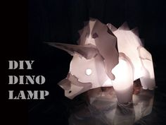 Cutest Dino Lamp Ever!