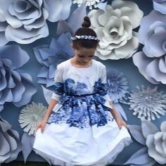 Blue tones at #Monnalisa for #SS16 #kidswear at #PittiBimbo81 #kidsfashion #kidsfashiontrends #kidsfashionblogger @monnalisa_official