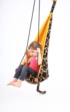 Contoured Leisure Swing Outdoor Playground Children Fun Play Double Wall Relax