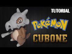 Pokémon Cubone Air Dry Clay Tutorial