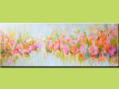 pastel shades abstract painting landscape painting by artbyoak1, $355.00