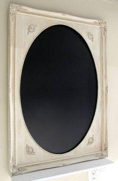 CHALKBOARD Sign Rustic Wedding Framed Chalkboard by ShugabeeLane, $229.00