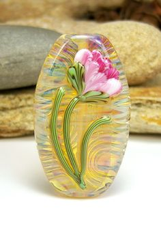 Art Insomnia ~ Handmade Lampwork Focal Bead - SRA in Jewelry & Watches, Loose Beads, Lampwork   eBay