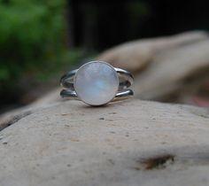 Moonstone Ring Adjustable 9-12