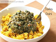 Tarka Dahl recipe featured from my best selling vegan recipe book #FullyCooked.