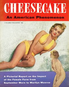 M M THROUGH MAGAZINE COVERS 10/29 :  Utilizing a bathing suit we've seen before — though possibly shot for this cover by Anthony Beauchamp in 1950 — this is basically a 112-page