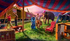 Gardens of Time | Circus Caravan